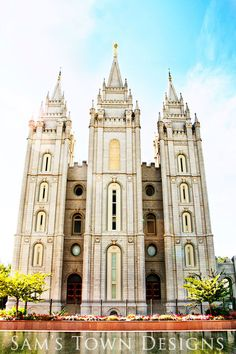 SLC Temple.  This is beautiful!