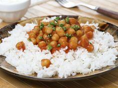 Avec les lectrices reporter de Femme Actuelle, découvrez les recettes de cuisine des internautes : Curry de pois chiches