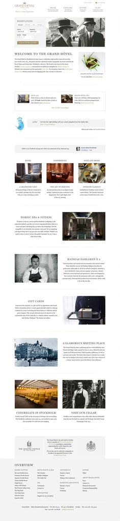 Grand Hotel Stockholm - Five Star Luxury hotel in Stockholm - #Best #website, #web #design #inspiration #showcase www.niceoneilike.com