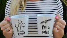 Harry Potter quidditch mugs