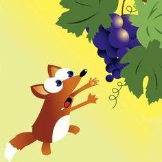La zorra y las uvas Las fábulas son un buen recurso para educar a los niños. Esta fábula enseña a los niños que muchas veces para conseguir lo que queremos tenemos que enfrentar dificultades y que no por ellas debemos perder el interés.
