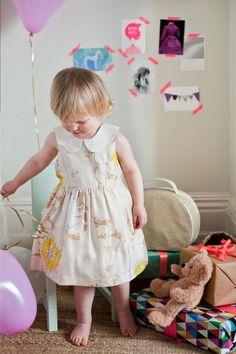 Gorgeous Hucklebones dresses.  Tom Leighton Photography. Professional photographer of Children, Food and Travel: Childrens Portfolio - Tom Leighton Photography