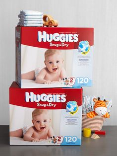 There's never a dry moment with Baby, so keep those Huggies handy. There are varieties for every need, including Snug  Dry for long-lasting protection.