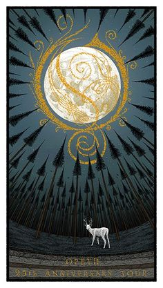 Opeth Poster by Charles Degeyter