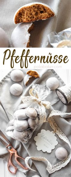 Pfeffernüsse #christmas #gingerbread #cookies #christmascookies #baking #recipe #polabaker #pfeffernusse #germancookies #christmasgift #gift #giftideas