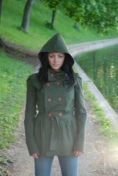 SALE The Fontaine Jacket by LittleHouses on Etsy, $125.00