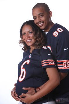 with team jersey # Pregnancy pictures # Pregnancy photogr Pregnancy Pictures, Maternity Pictures, Maternity Photographer, Charlotte, Mom, Ravens, Photo Ideas, Nautical, Chicago