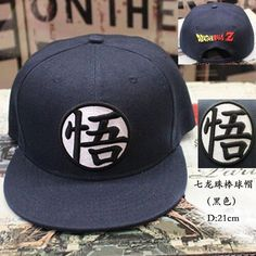 1dddac795dd Dragon Ball Z  Dragonball Goku Snapback Hat Adjustable Baseball Cap.  Costume HatsMens CapsHip HopDragon ...