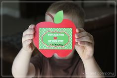 You are the apple of our eye teacher appreciation printable