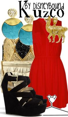 Kuzco by Disney Bound. Fashion Disney Outfit. Emperor's New Groove
