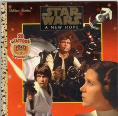 STARS WARS A NEW HOPE GOLDEN BOOKS 1997