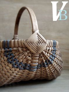 baskets! When I had more time, I used to make baskets just like this one. It has been over 10 years since I made one, and I do not think I remember how to begin! Love to decorate with baskets.