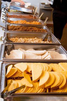 46 trendy Ideas for wedding reception food buffet taco bar – Diy Wedding 2020 Taco Bar Wedding, Wedding Buffet Food, Diy Wedding Food, Wedding Catering, Wedding Menu, Wedding Foods, Wedding Ideas, Wedding Buffets, Wedding Appetizer Bar