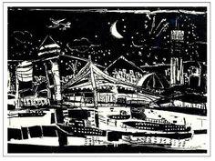 LIGHT画「Hakata night」[ブラザーケンチャン]   ART-Meter