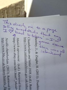So my friend accidentally included a wrong link in his final research paper reference page...