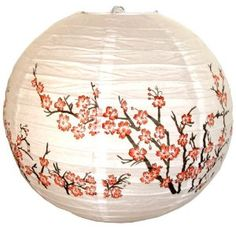 Red Blossom Lanterns