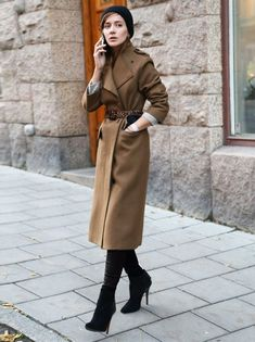 45 Stylish Camel Coat Outfit Ideas to Copy Right Now - Latest Fashion Trends Look Fashion, Womens Fashion, Fashion Trends, Latest Fashion, Camel Coat Outfit, Moda Boho, Winter Mode, 2016 Winter, Fall 2015