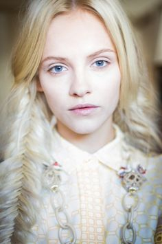 @Victoria Brown McCoy Burch Spring 2013... gorgeous makeup. #beauty