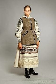 FolkCostume&Embroidery: More on the costume and embroideryl from Sokal' region, Ukraine Ukrainian Art, Folk Costume, Historical Costume, Illustrations, Boho Outfits, Traditional Dresses, Ukraine, High Neck Dress, Culture