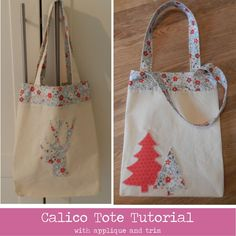 Designed for students at our Sewing School in Witney, Oxfordshire. Bag Patterns To Sew, Sewing Patterns Free, Diy Tote Bag, Tote Bags, Sew Bags, Christmas Bags, Christmas 2017, Christmas Time, Christmas Ideas