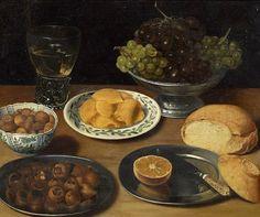 ღღ Georg Flegel (1566 -1638) German Still Life Painter
