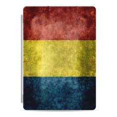 Flag of Romania - Vintage version - iPad Cover / Case (200 RON) ❤ liked on Polyvore featuring accessories, tech accessories, ipad cover / case, ipad cover case, ipad sleeve case, ipad cases, apple ipad case and apple ipad cover case