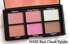NARS Nordstrom's Best Cheek Palette ($65) - This is one of the beauty exclusives from Nordstrom's Anniversary Sale of 2016. The blush palette includes Orgasm (3.5g/0.12oz), Deep Throat (3.5g/0.12oz), Albatross (3.5g/0.12oz), Luster (3.5g/0.12oz), Desire (3.5g/0.12oz) and Laguna (3g/0.1oz).