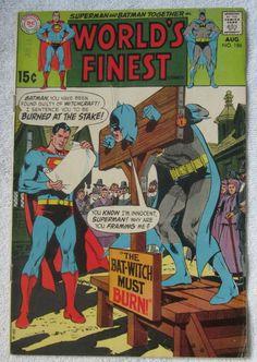 World's Finest Comics #186 (Aug 1969, DC) Neal Adams cvr Good 2.0