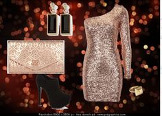 """""""Sparkling Night Out"""" by cassiecclayton on Polyvore"""