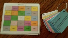 Review Bingo Cards - Free Printable - ALL Cycles Classical Conversations and Homeschooling