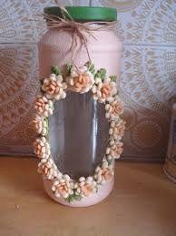 Resultado de imagen para botellas decoradas en porcelana fria