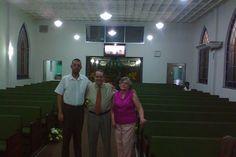 Rev Paulo de Tarso e Angela na IP Bento Ribeiro.