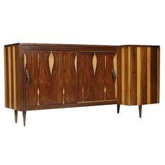 Cocktail Bar/Credenza in the style of Scapinelli, Brazil, Cool Furniture, Furniture Design, Bar Cabinets, Dry Bars, Credenza, Danish, Interior Architecture, Brazil, 1950s