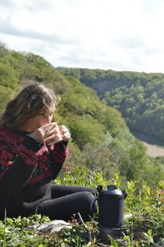 Storm kettle tea-making on http://thegirloutdoors.co.uk/2014/05/12/review-f1-storm-kettle-from-the-storm-kettle-shop/