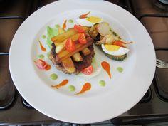 Hamburger alla moda dello chef Gino D'Aquino