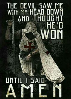He thought he won. Praise Jesus