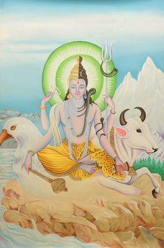 Hari-Hara (A Composite Image Vishnu and Shiva) with Garuda and Nandi)