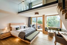 Spa Loft with a private whirlpool and sauna, Bayerisch Gmain, Germany Premium Hotel, Spa, Workout Rooms, Modern Room, Cool Rooms, Warm Colors, Contemporary Design, Lounge, Furniture