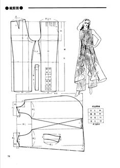 The best DIY projects & DIY ideas and tutorials: sewing, paper craft, DIY. Clothing Patterns, Dress Patterns, Sewing Patterns, Women's Clothing, Sewing Clothes, Diy Clothes, Clothes For Women, Mode Cool, Sewing School