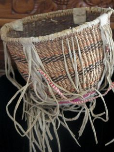 Western Apache Burden Basket (White Mountain) Circa 1920 I have one of these thanks to my mother in law