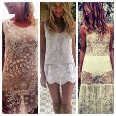 Boho summer dress - El camarin