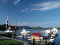 The Full Servicew Marina at Shearwater Resort. Canada Trip, Canada Travel, Places To Visit, Canada Destinations