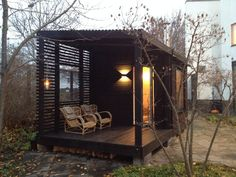 Good sauna designs and plans make your sauna project perfect. When you decide to design your own sauna, it is important to consider several factors. Heaters are the heart and soul of any sauna. Sauna Design, Shed Design, House Design, Design Design, Interior Design, Sauna House, Sauna Room, Cabins In The Woods, House In The Woods