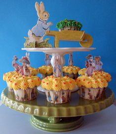 Beatrix Potter and Friends Cupcakes