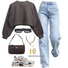 Cute Casual Outfits, Warm Outfits, Edgy Outfits, Retro Outfits, Vintage Outfits, Fashion Outfits, Mode Streetwear, Streetwear Fashion, Cute Fashion