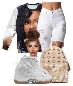 """""""Rihanna♡♡♡"""" by ballislife ❤ liked on Polyvore featuring MCM, NIKE and Casetify"""