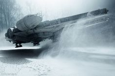 alwaysstarwars: Supremely awesome and realistic photos by Avanaut made using scale models