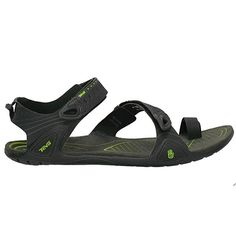 My favorite sandal is the Teva Zilch. I wear it every day in the summer and it is light enough to bring on backpacking trips to wear around camp. It has a minimalist feel with very thin soles very unlike the Chacos that I used to wear. Only issue is they get kind-of spungy when wet, so they are not the best river sandal. If you live in a dry climate like I do, it is not a big deal because they dry quickly anyway, but it could be an issue elsewhere. Love 'em!