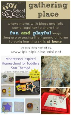 Tot School Gathering Place ~ Week 87