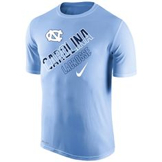 North Carolina Tar Heels Nike Lacrosse Legend Performance T-Shirt -  Carolina Blue - $23.99